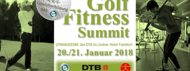 2. Golf-Fitness-Summit - der Athlet im Golfer